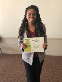McKINLEY STUDENT PLACES AT NEO SPEECH COMPETITION