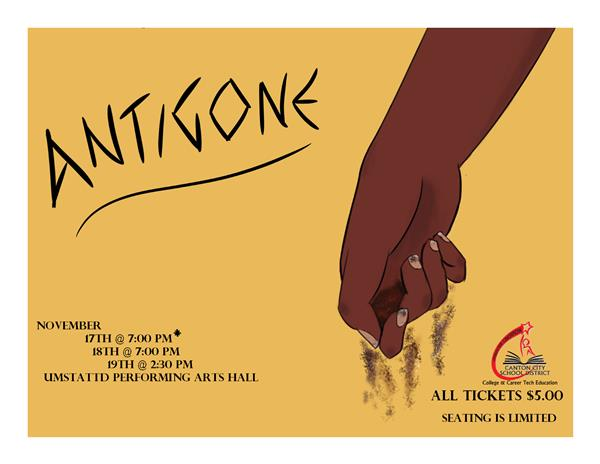 McKINLEY THEATER ARTS PRESENTS ANTIGONE