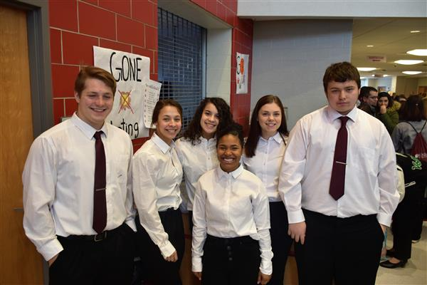 McKINLEY CAREER TECH STUDENTS COMPETE IN REGIONAL COMPETITION FOR FUTURE HEALTH PROFESSIONALS