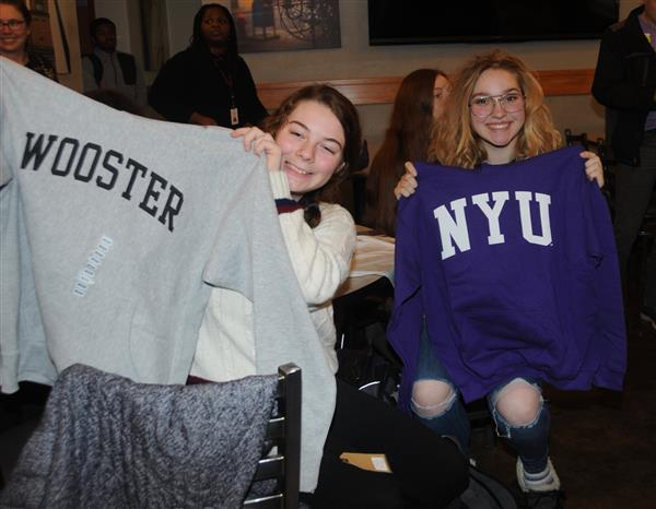 CCSD SENIORS GET HOODIES FOR THE HOLIDAYS