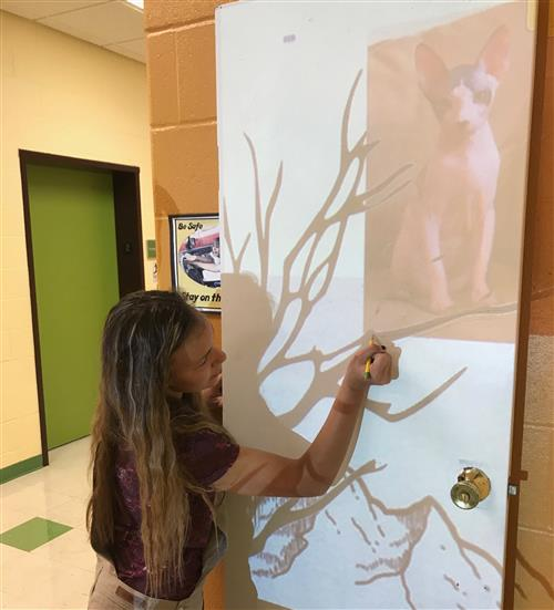 Student tracing tree