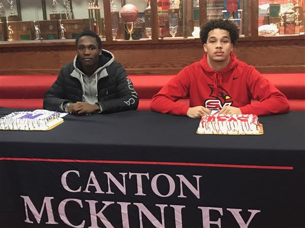 McKINLEY SCHOLAR-ATHLETES SIGN TO PLAY FOOTBALL IN COLLEGE