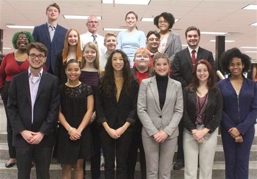 McKINLEY STATE SPEECH AND DEBATE STATE QUALIFIES 19 FOR STATE!