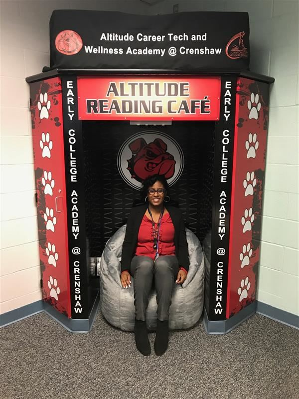 READING CAFE OPENS AT CRENSHAW