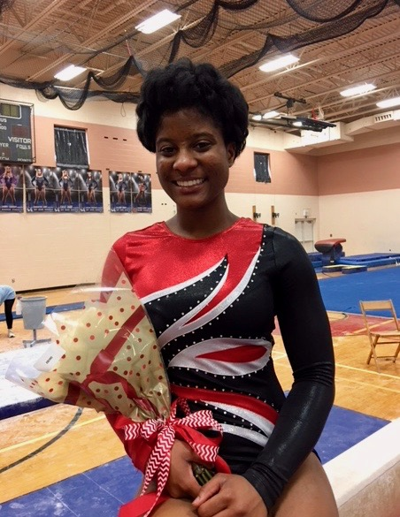 McKINLEY GYMNAST HEADED TO STATE!