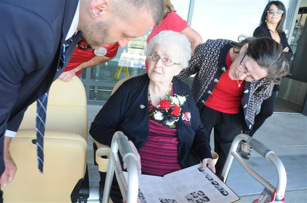 DISTRICT HELPS GRANT WISH TO 1949 MCK GRAD