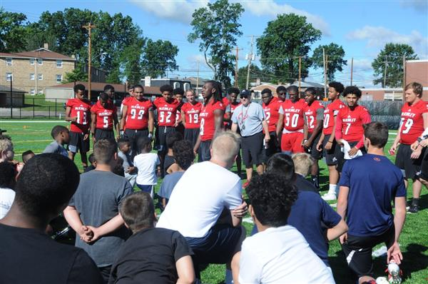 McKINLEY FOOTBALL CAMP OF CHAMPIONS COMING JUNE 25-26