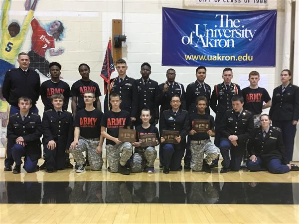 McKINLEY ROTC WINS COMPETITION