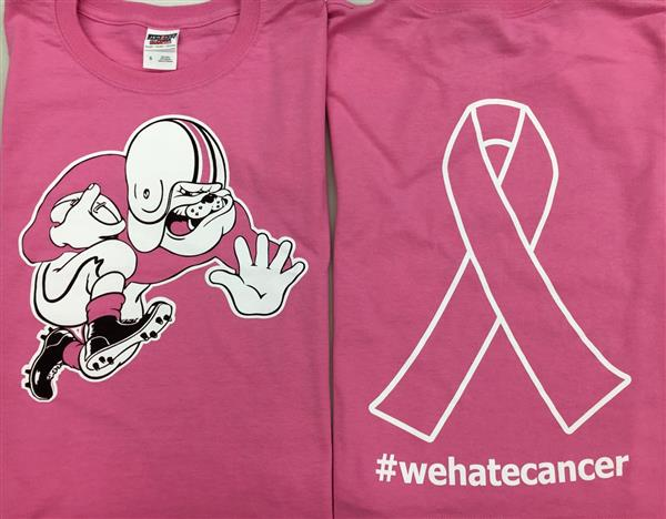 McKINLEY FOOTBALL TO HAVE PINK OUT FOR BREAST CANCER AWARENESS