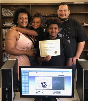 STEAMM STUDENT WINS WEB DESIGN CONTEST